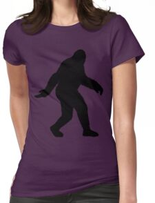 Sasquatch Womens Fitted T-Shirt