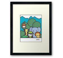 Our Safari Framed Print