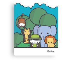 Our Safari Canvas Print