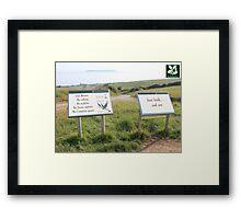 National Trust Framed Print