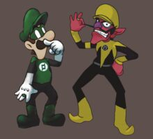 Luigi Lantern and Walestro by Petertwnsnd