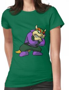 Bowser Luthor Womens Fitted T-Shirt