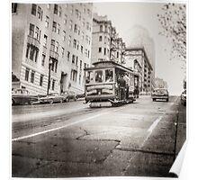 Vintage Streetcar Trolley 2387 Poster