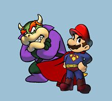Super Mario and Bowser Luthor Unisex T-Shirt
