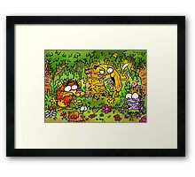 Nigel and the Banana Loan Framed Print