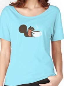 Squirrel Coffee Holiday Women's Relaxed Fit T-Shirt