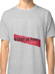A Study in Pink fan poster Classic T-Shirt