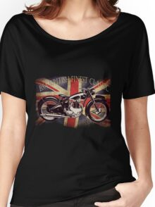 BSA British Finest Motorcycle Women's Relaxed Fit T-Shirt