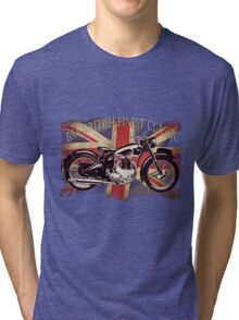 BSA British Finest Motorcycle Tri-blend T-Shirt