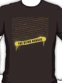 The Blind Banker fan poster T-Shirt