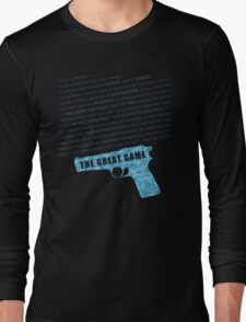 The Great Game fan poster Long Sleeve T-Shirt