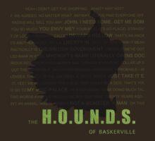 The Hounds of Baskerville fan poster T-Shirt