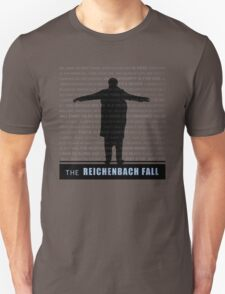 The Reichenbach Fall fan poster Unisex T-Shirt