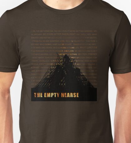 The Empty Hearse fan poster Unisex T-Shirt