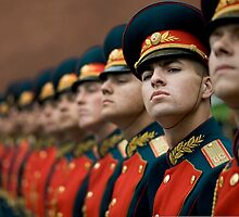 Russian Honour Guard by cadellin