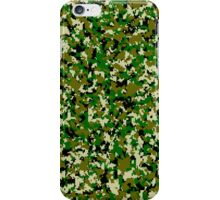 Military camouflage jungle green iPhone Case/Skin