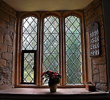 A Pretty Church Window by lynn carter