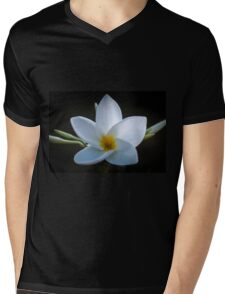 Plumeria solist Mens V-Neck T-Shirt