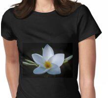 Plumeria solist Womens Fitted T-Shirt