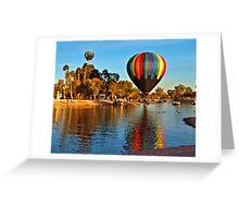 Vibrant Reflections Greeting Card
