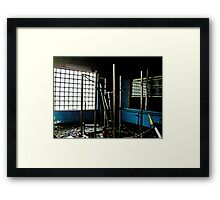Weighted No More Framed Print