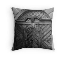 Czech Door Throw Pillow