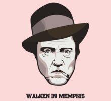 """Christopher Walken - """"Walken in Memphis"""" Kids Tee"""