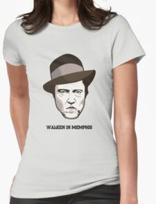 "Christopher Walken - ""Walken in Memphis"" Womens Fitted T-Shirt"