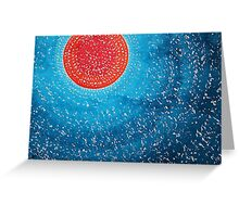 Summer Sun original painting Greeting Card