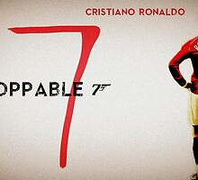 Cristiano Ronaldo Unstoppable  by Lucifer331