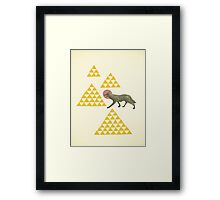 Mountain Wolf Framed Print