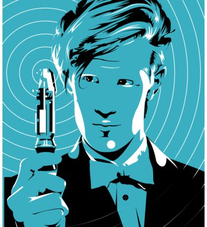 The Eleventh Doctor (Blue) Sticker