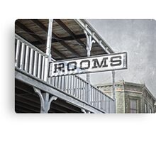 Rooms Canvas Print