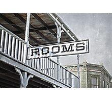 Rooms Photographic Print