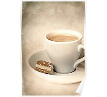 chocolate coffee Poster