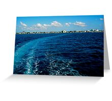 A View from the Sea Greeting Card