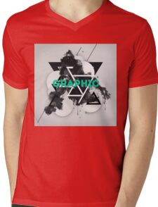 GRAPHIC Mens V-Neck T-Shirt
