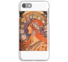 Alphonse Mucha: Zodiac iPhone Case/Skin