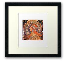 Alphonse Mucha: Zodiac Framed Print