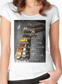 Artifact Pistol Women's Fitted Scoop T-Shirt