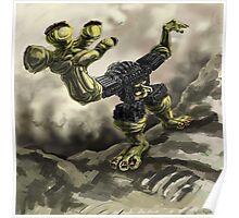 Robotic Monster Poster