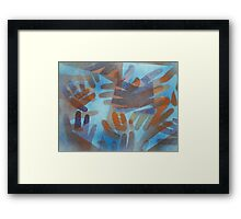 The hands of the Drowned Framed Print
