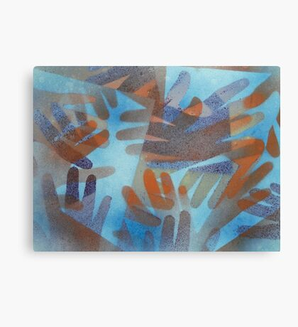 The hands of the Drowned Canvas Print