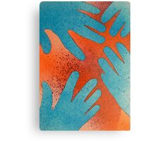 The Blue Hand Gang Canvas Print