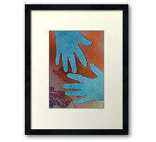 More of the Blue Hand Gang Framed Print