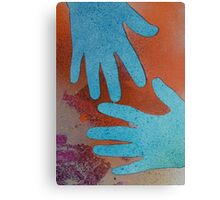 More of the Blue Hand Gang Canvas Print