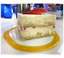 Strawberry Shortcake Cream on Top Poster