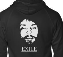 BregarexiledTransparency Zipped Hoodie