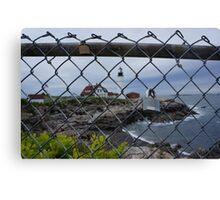 Love Locks of Maine Canvas Print
