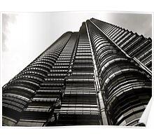 Petronas Towers, Kuala Lumpur Poster